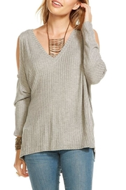 Chaser Thermal Cold Shoulder Top - Product Mini Image