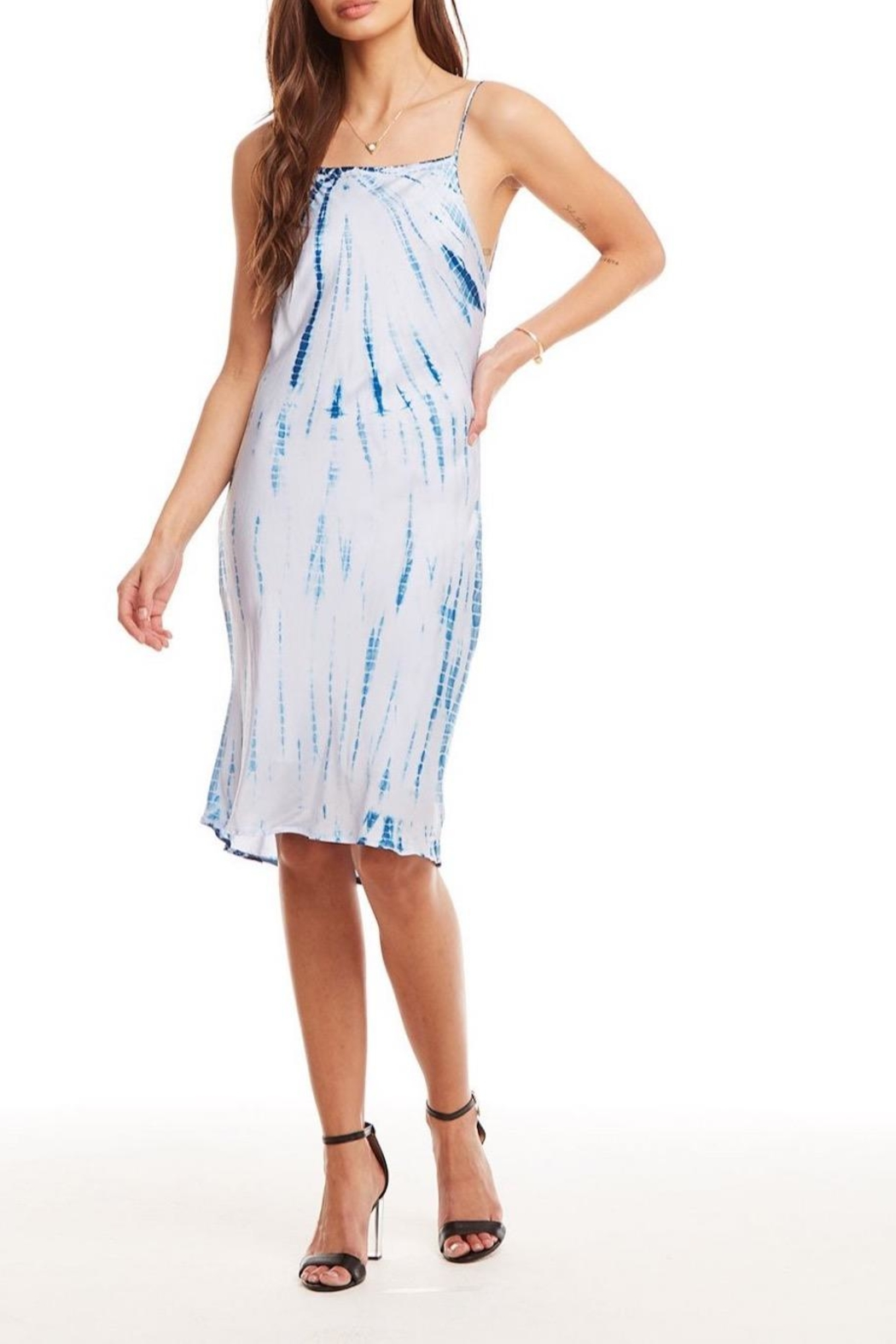 Chaser Tie Dye Dress - Side Cropped Image