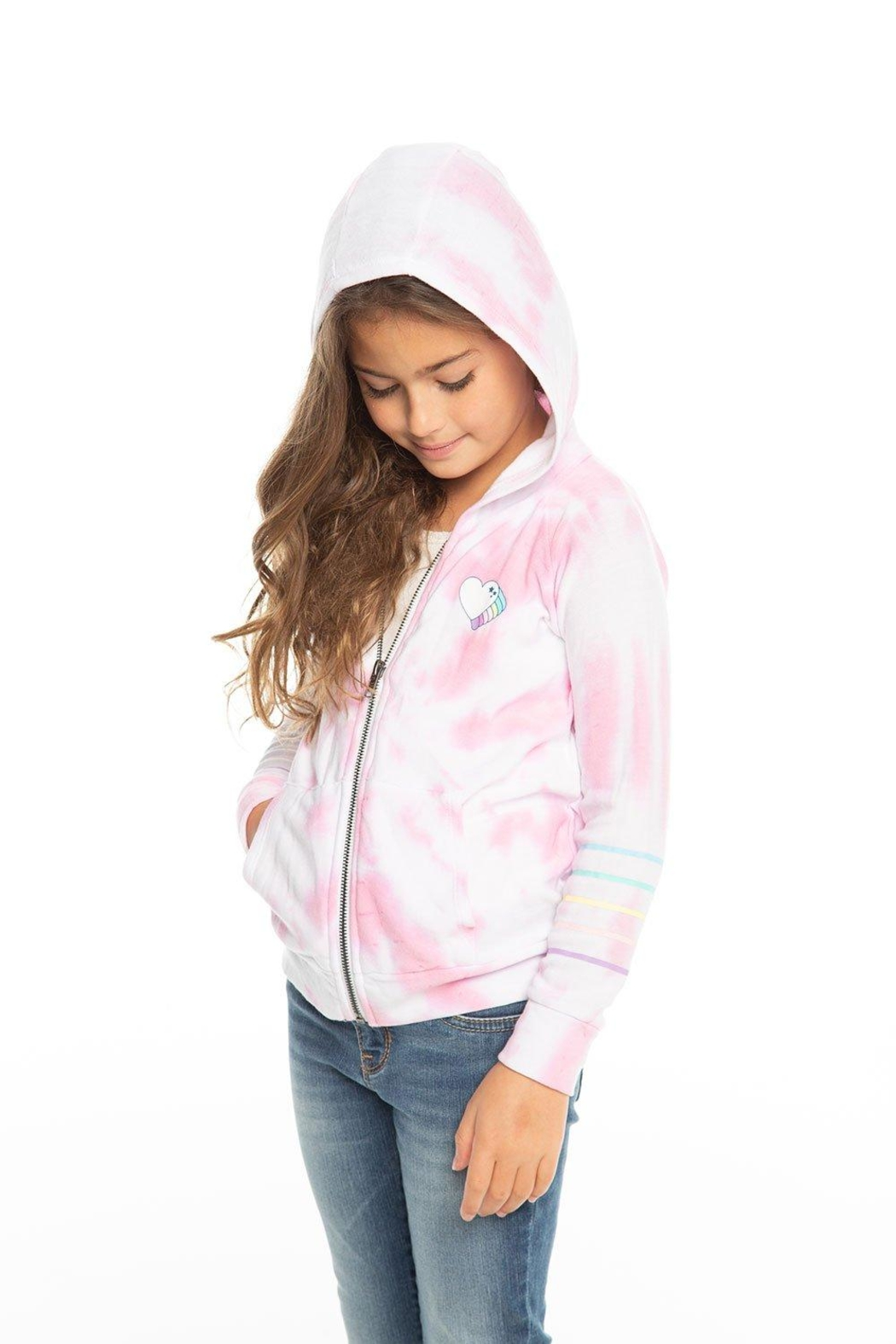 Chaser Tie Dye Hoodie - Front Full Image