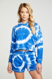 Chaser Tie-Dye Star Shorts - Back cropped
