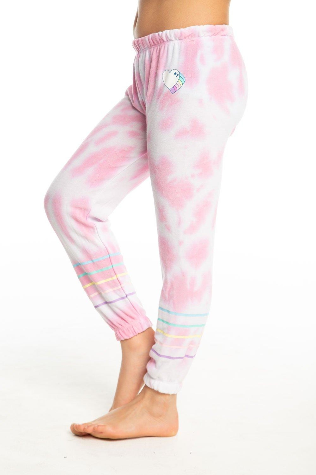 Chaser Tie Dye Sweatpants - Front Full Image
