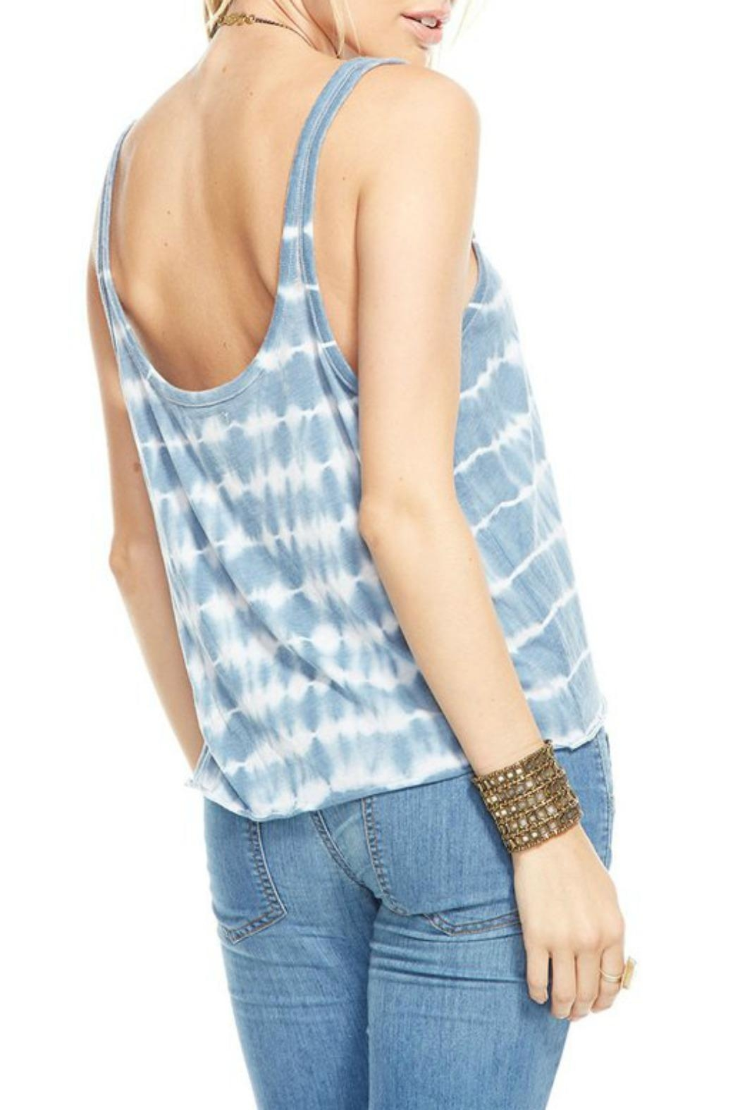 Chaser Tie Dye Tank Top - Front Full Image