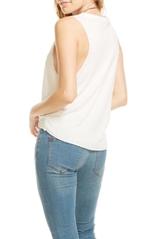 Chaser Tie Front Tank Top - Side cropped