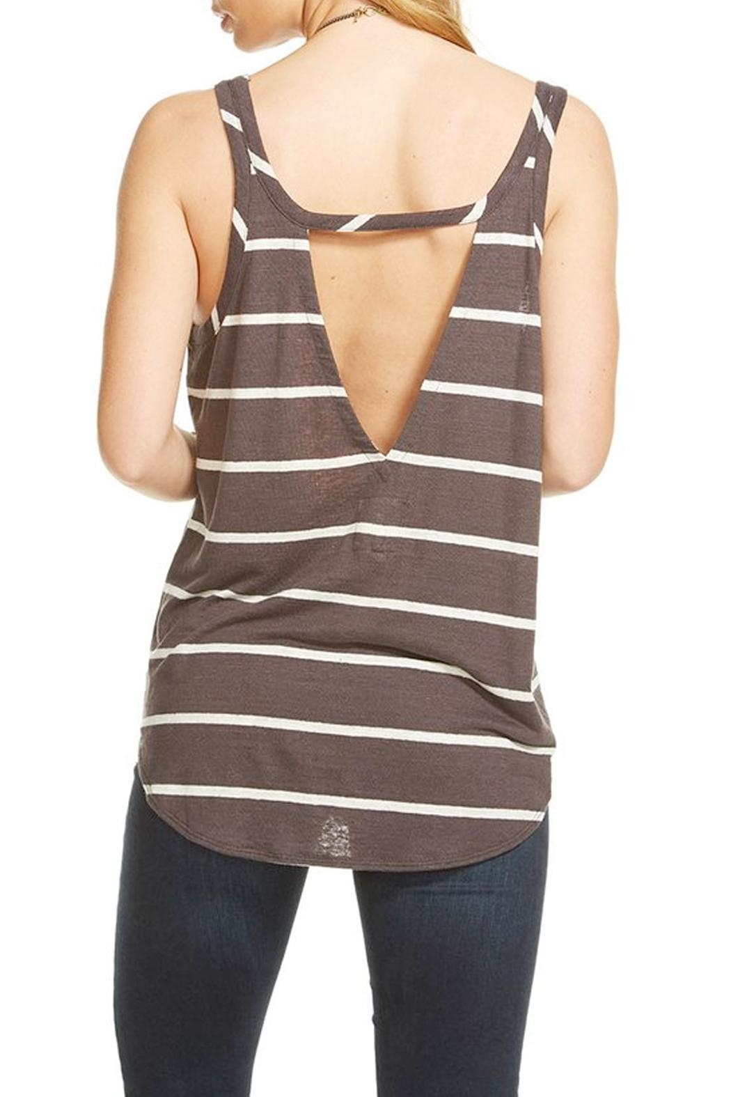 Chaser Shirttail Tank Top - Front Full Image