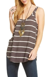 Chaser Shirttail Tank Top - Front cropped