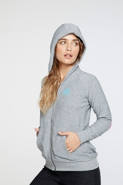 Chaser Vacay Vibes Zip-Up-Hoodie - Product Mini Image