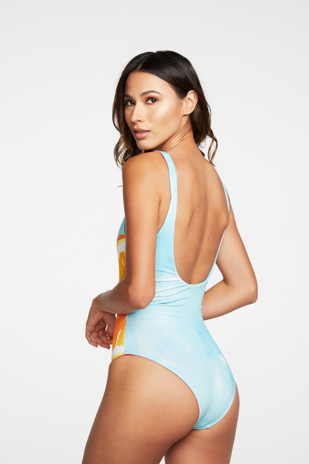 Chaser Valencia One Piece - Back Cropped Image