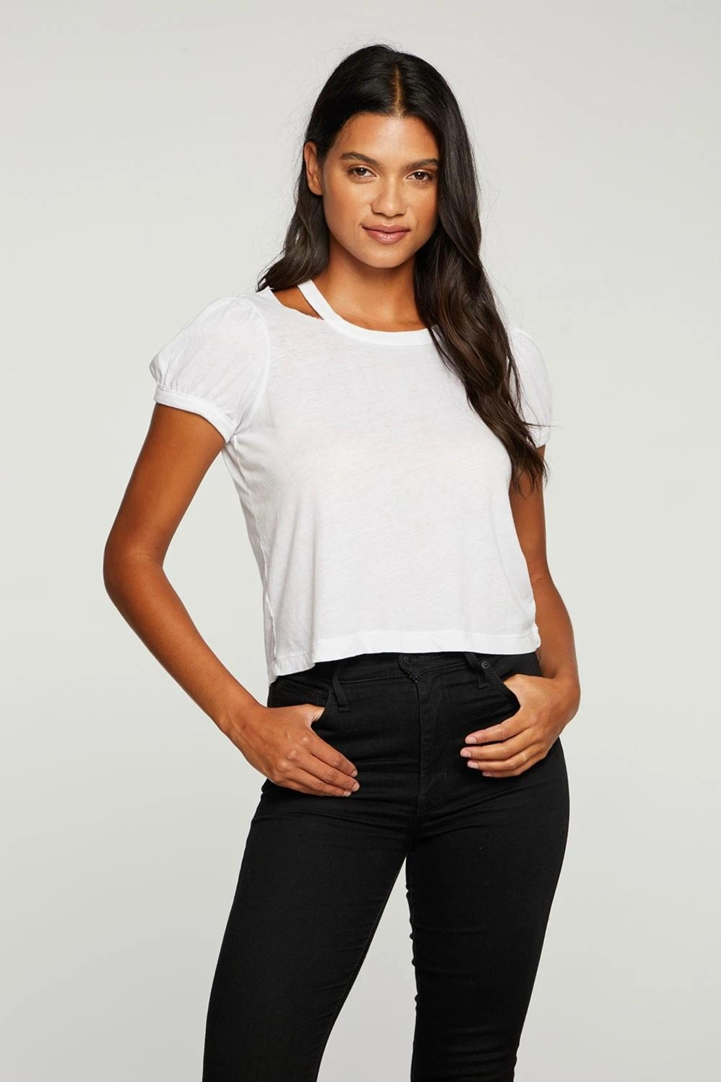 Chaser Vented Neck Tee - Front Full Image