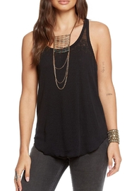 Chaser Vintage Lace-Up Tank - Product Mini Image