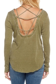 Chaser Vintage Rib Tee - Front full body