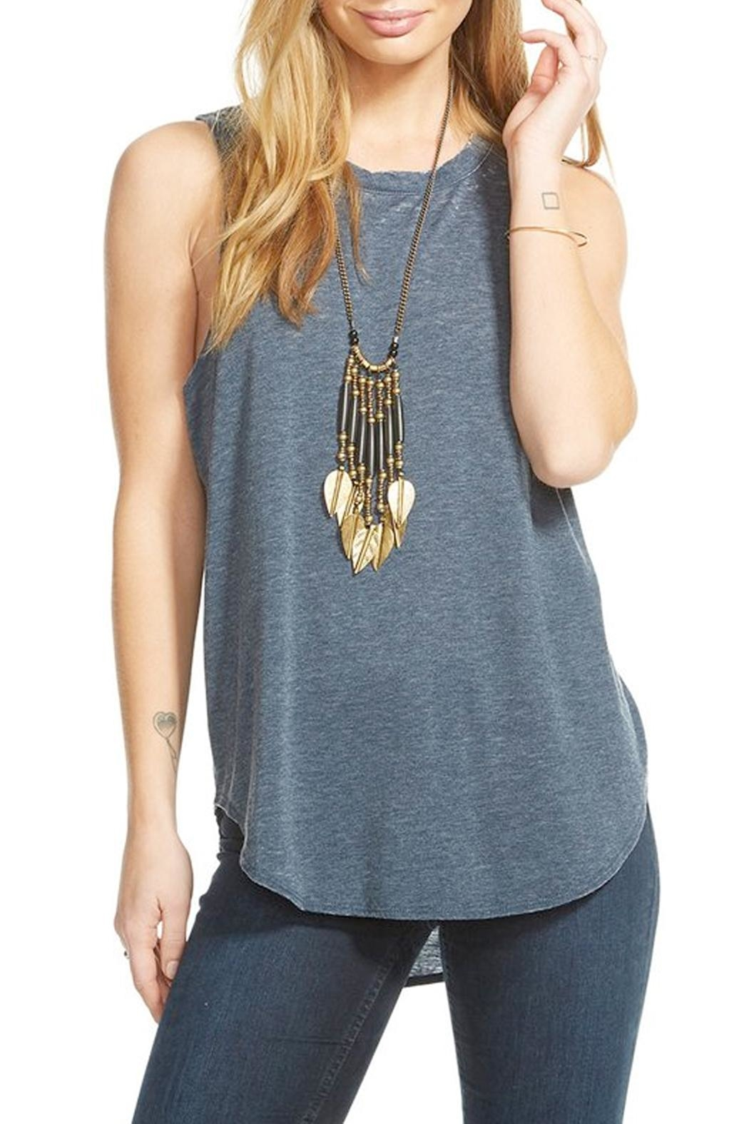 Chaser T Back Tank Top - Main Image