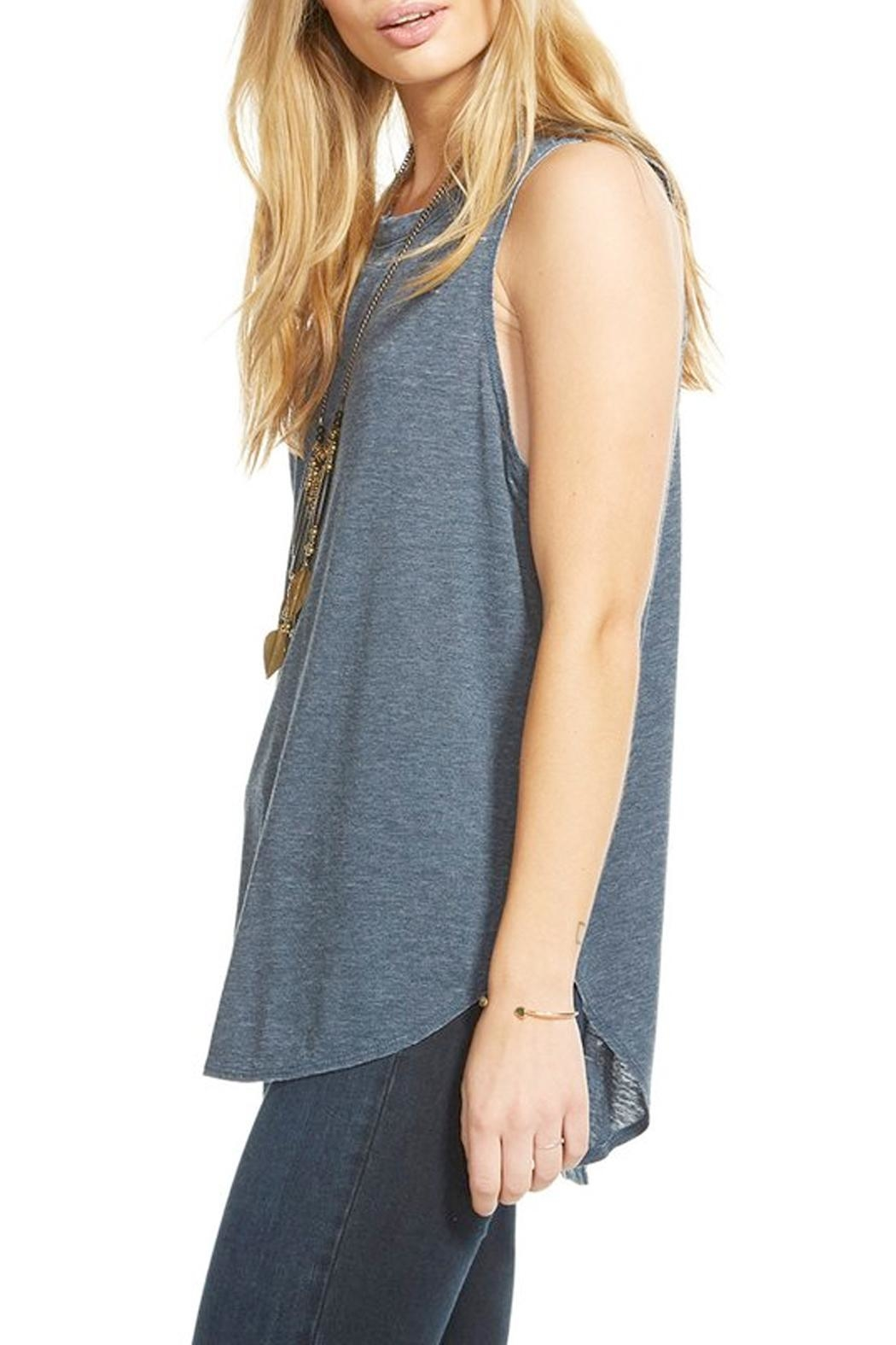Chaser T Back Tank Top - Front Full Image