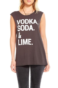 Shoptiques Product: Vodka Soda Lime Tank Top