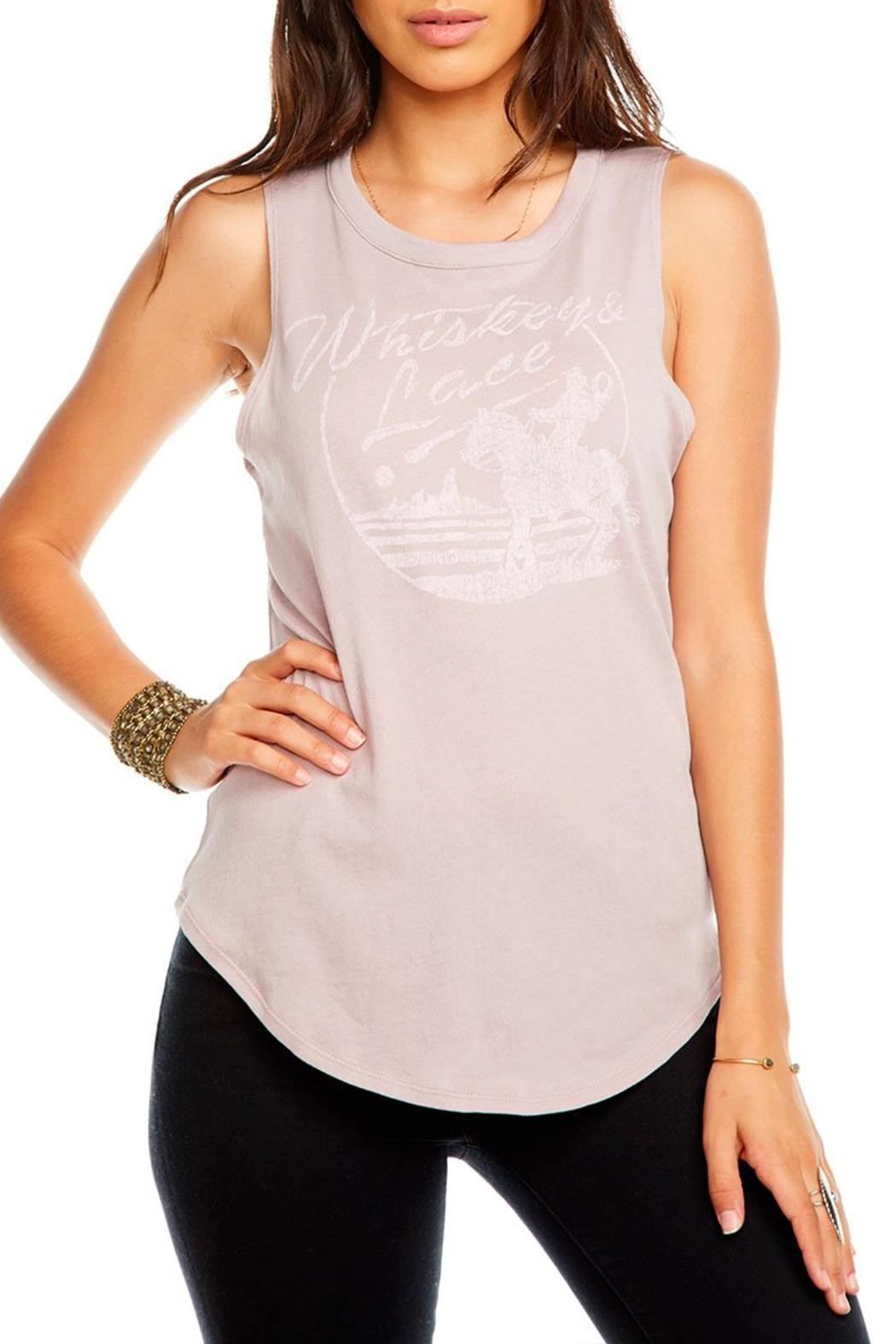 Chaser Whiskey-&-Lace Tee - Front Full Image