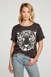 Chaser White Tiger Tee - Front cropped