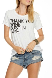 Chaser Wine Tine Tee - Product Mini Image