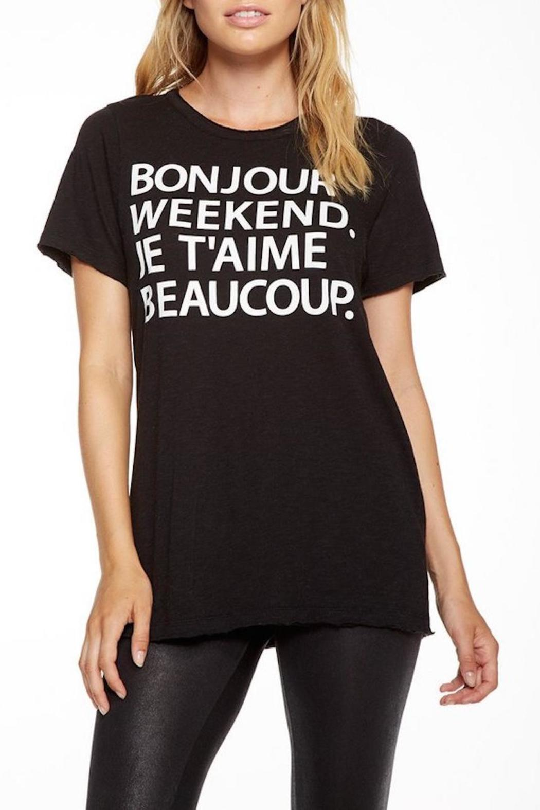 Chaser Bonjour Weekend Tee - Main Image