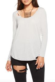 Chaser Deconstructed Jersey Top - Product Mini Image