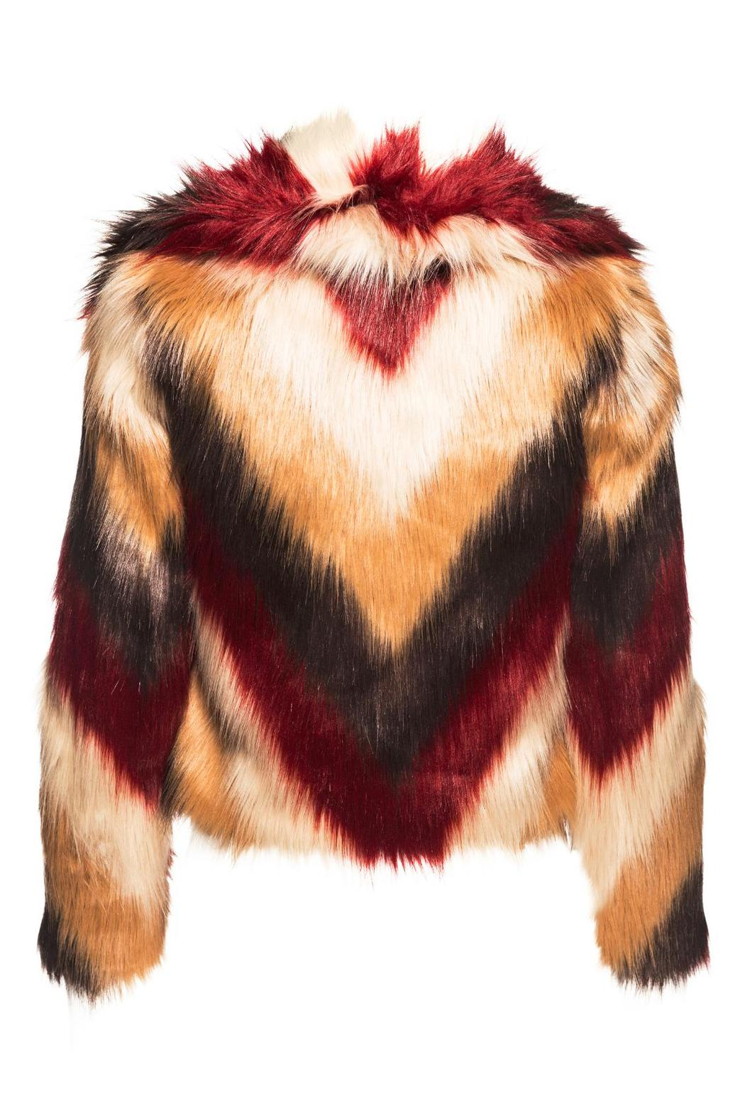 Chaser Faux Fur Jacket - Front Full Image