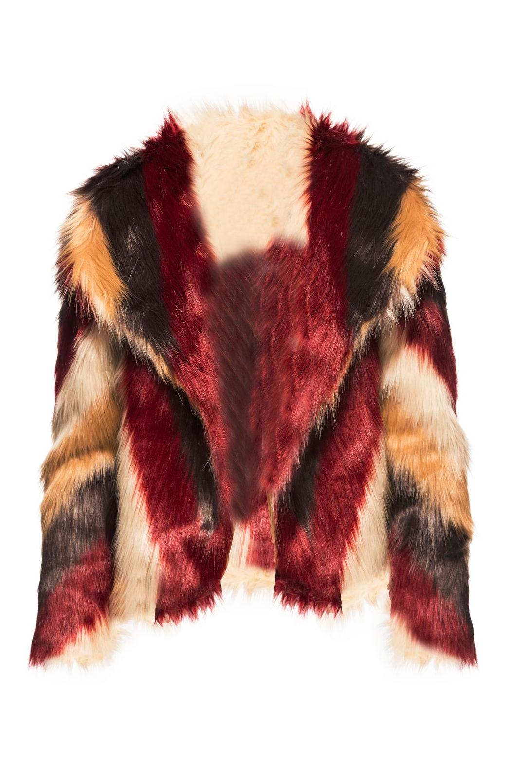 Chaser Faux Fur Jacket - Main Image