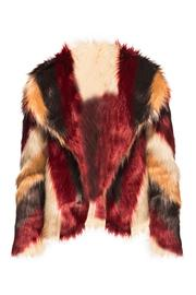 Chaser Faux Fur Jacket - Front cropped