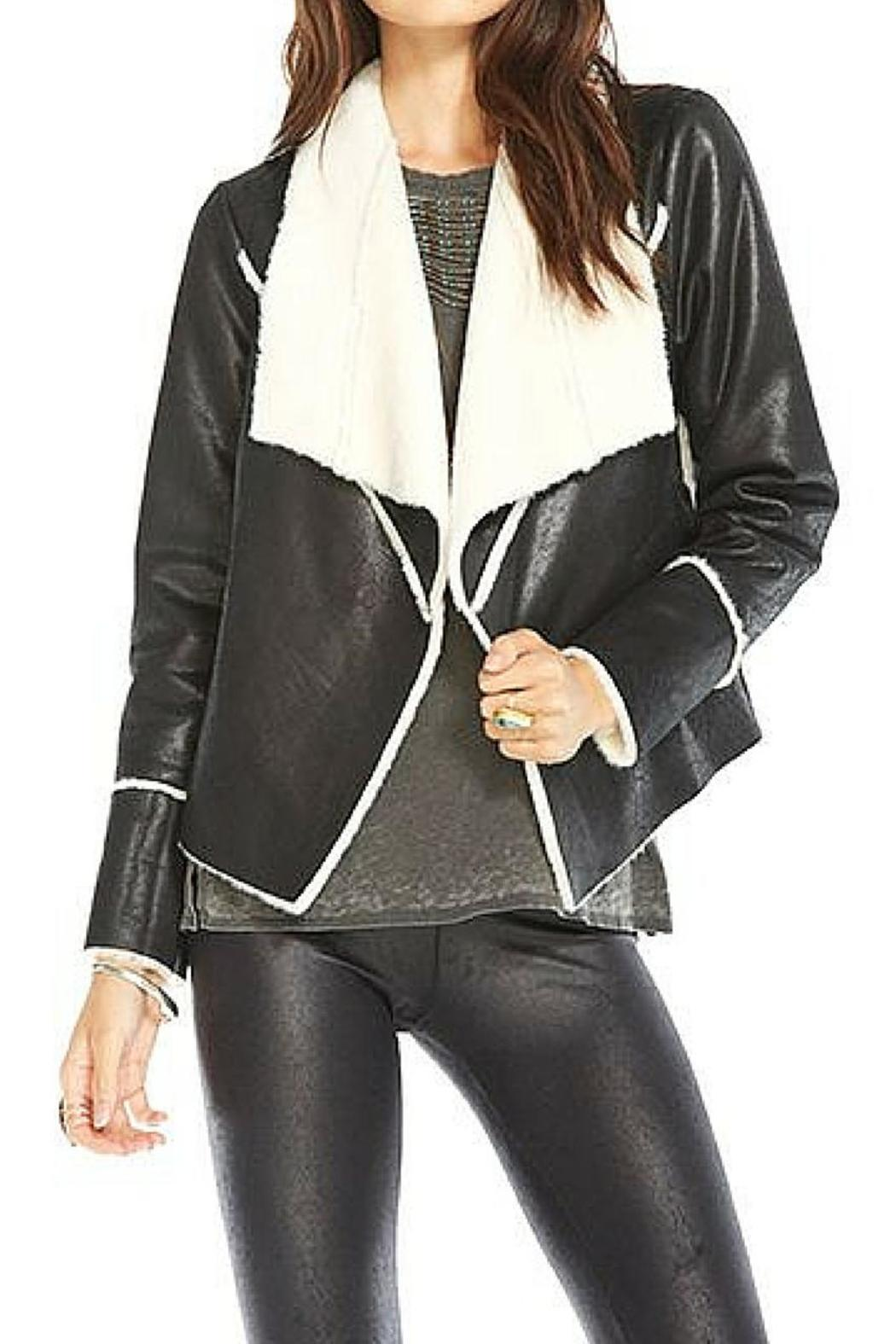 Chaser Faux Suede Fur Jacket - Main Image