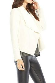 Chaser Faux Suede Fur Jacket - Front full body