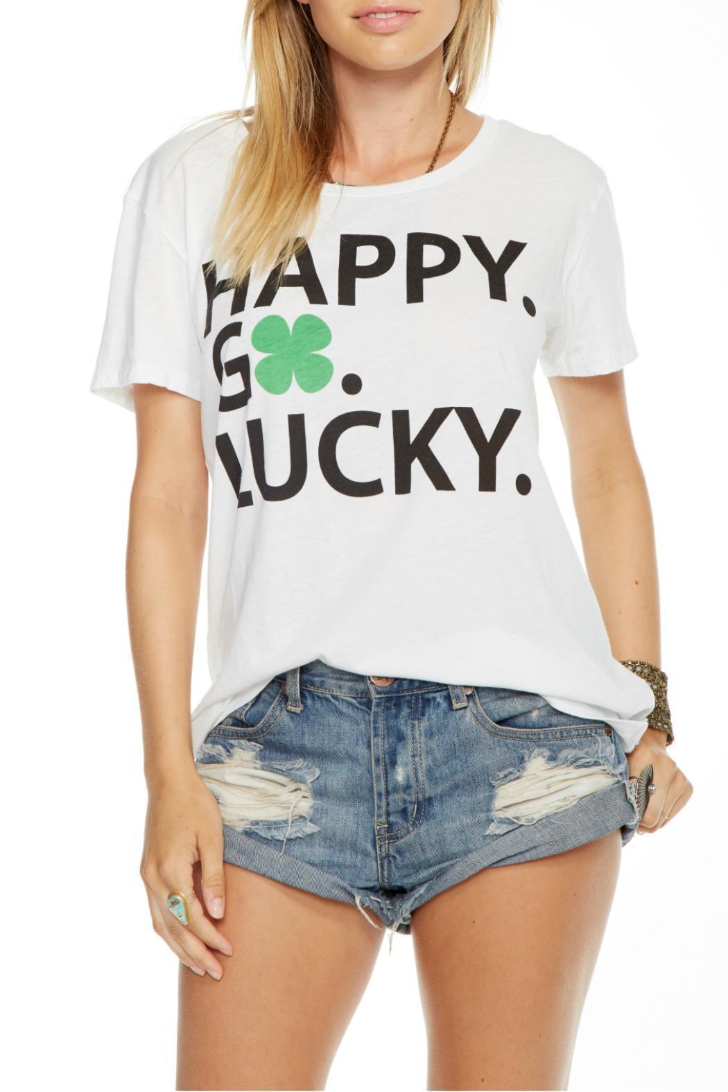 9e04c59c Chaser Happy Go Lucky Tee from Las Vegas by R+D — Shoptiques