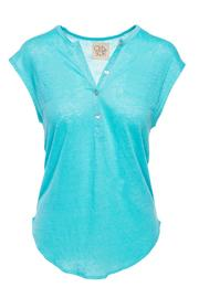 Chaser Linen Henley - Product Mini Image
