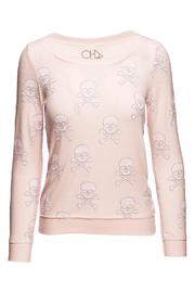 Chaser Opal Skulls Pullover - Front cropped
