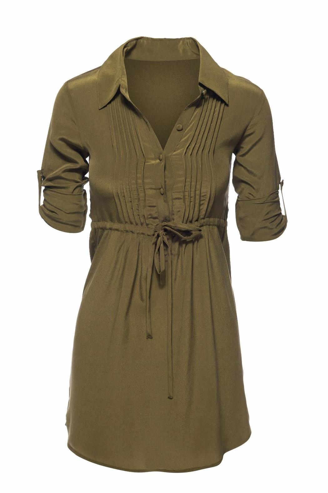 Chaser Silk Shirt Dress From Indiana By The Bungalow Lv Shoptiques