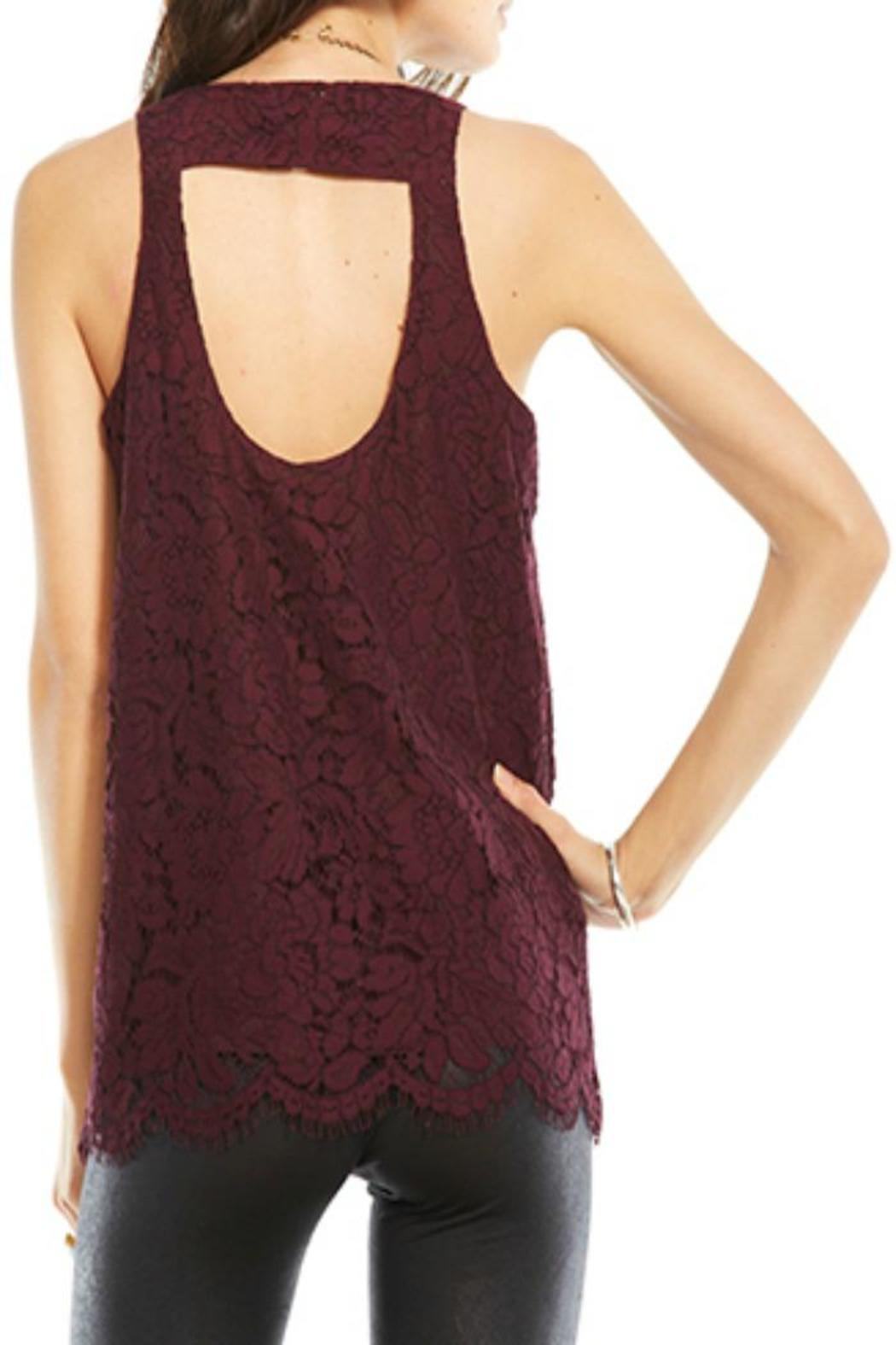 Chaser Collection Open Back Lace Tank From Canada By Mint