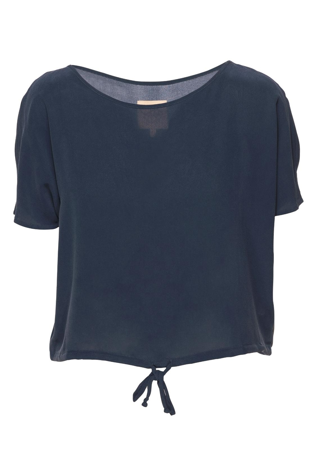 Chaser LA Drawstring Dolman Top - Front Cropped Image