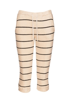 Chaser LA French Terry Beige Jogger - Product List Image