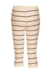 Chaser LA French Terry Beige Jogger - Front full body