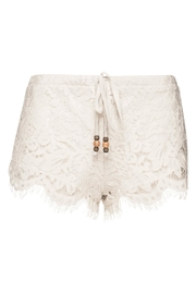 Chaser LA Lace Shorts Milk - Front full body