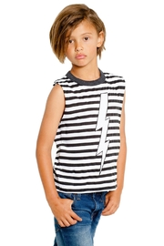 Chaser LA Lightning Stripe Muscle Tee - Product Mini Image