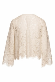 Chaser LA Open Front Lace Cardigan - Front full body