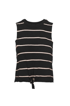 Chaser LA Tie Front Muscle Top - Product List Image