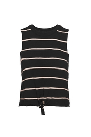 Chaser LA Tie Front Muscle Top - Product Mini Image