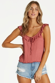 Billabong Chasing Summer Ruffle Tank - Product Mini Image