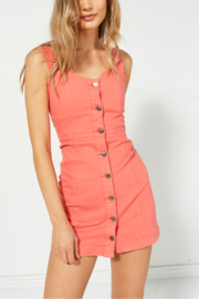 MINK PINK Chasing Sunrise Denim Dress - Product Mini Image