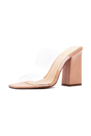 Qupid Chasity-10 Heeled Sandal - Front cropped