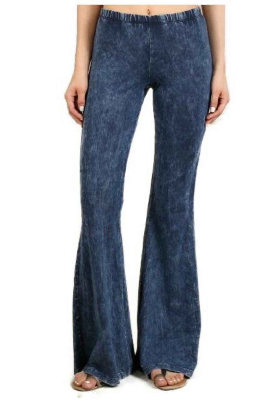 Chatoyant Bell Bottom Pants From Mississippi By Obsessions