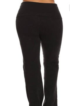 Chatoyant  Bootcut  Mineralwashed Leggings-Plus - Alternate List Image