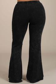 Chatoyant  Bootcut  Mineralwashed Leggings-Plus - Side cropped