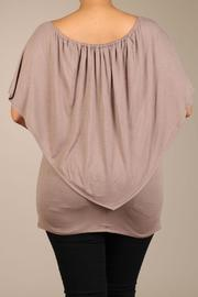 Chatoyant  Butterfly Top - Back cropped