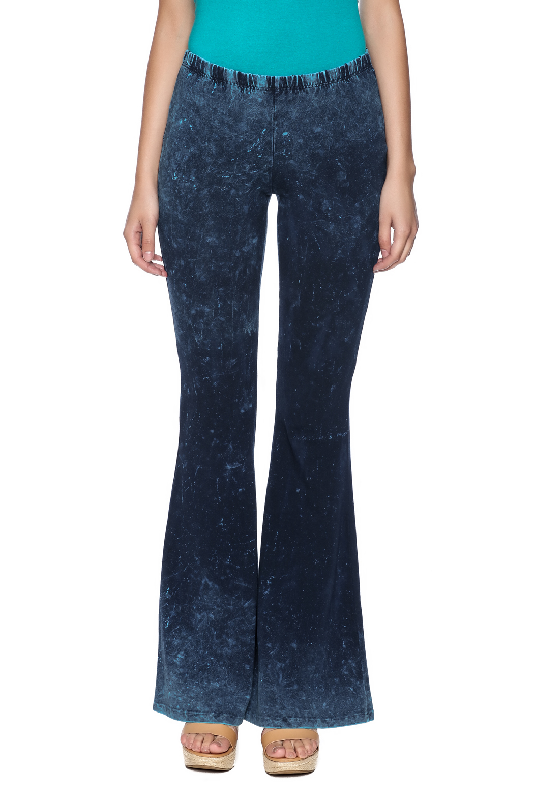Chatoyant  Galaxy Bell Bottoms - Side Cropped Image