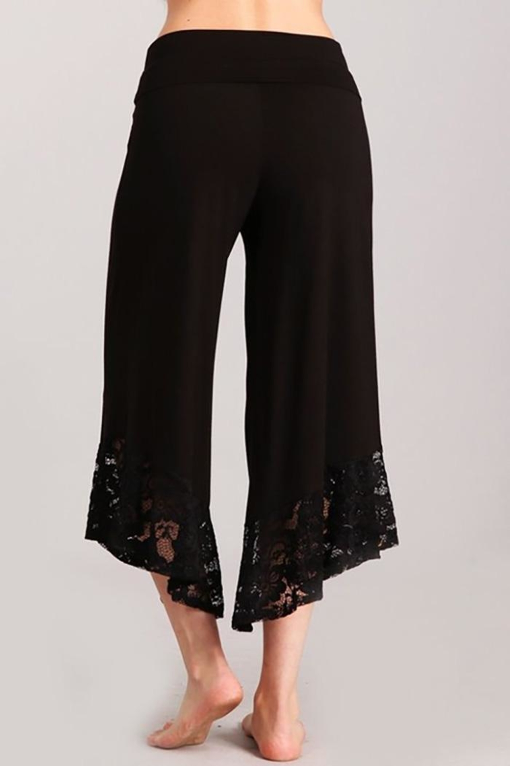 Chatoyant  Gaucho Wide-Leg Pants - Front Full Image