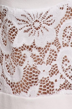 Chatoyant  Lace Inset Bell Pants - Alternate List Image
